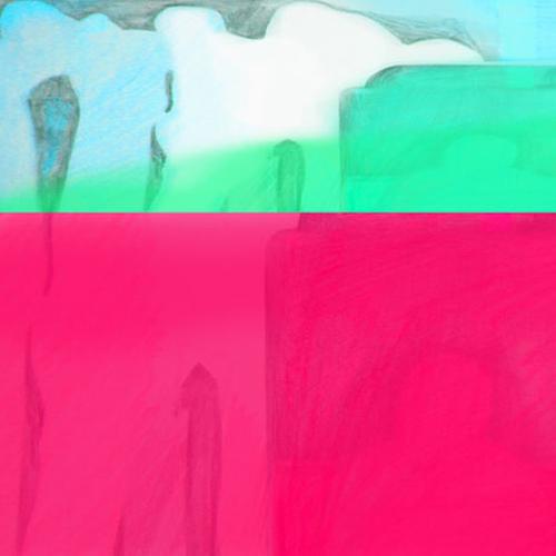 Abstract Painting SUBWAY, Artist HENDRIK PERDUN, Www.young Art Gallery.